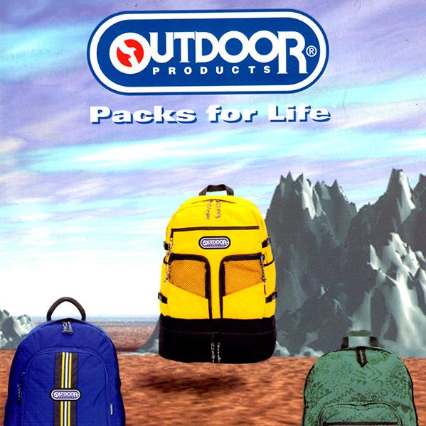 「Packs for Life」のブランドメッセージ起用
