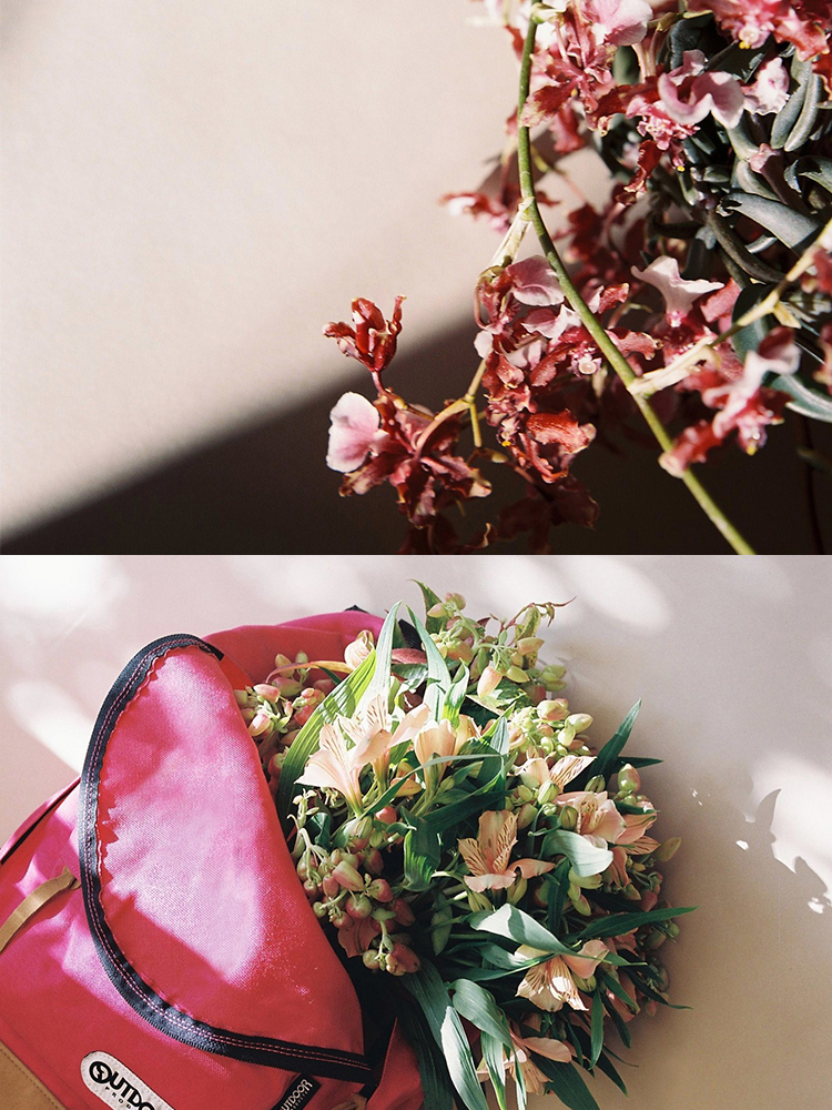 花×バッグで魅せる、フローリスト・壱岐ゆかりの色鮮やかな世界。
